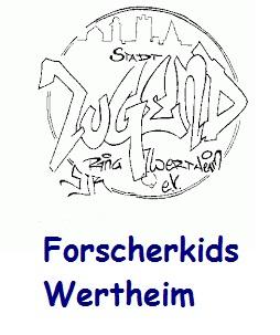 Logo Stadtjugendring Wertheim e.V., Forscherkids
