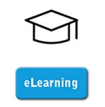 Hut mit Schriftzug eLearning