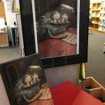Poster mit Monster, Buchseite mit Monster